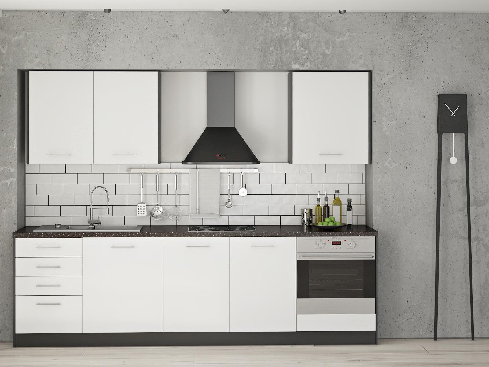 Best Küchenzeile Ohne Oberschränke Pictures - Ridgewayng.com ...