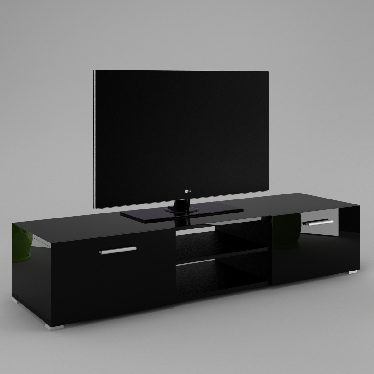 lowboard tv luna labi m bellabi m bel. Black Bedroom Furniture Sets. Home Design Ideas