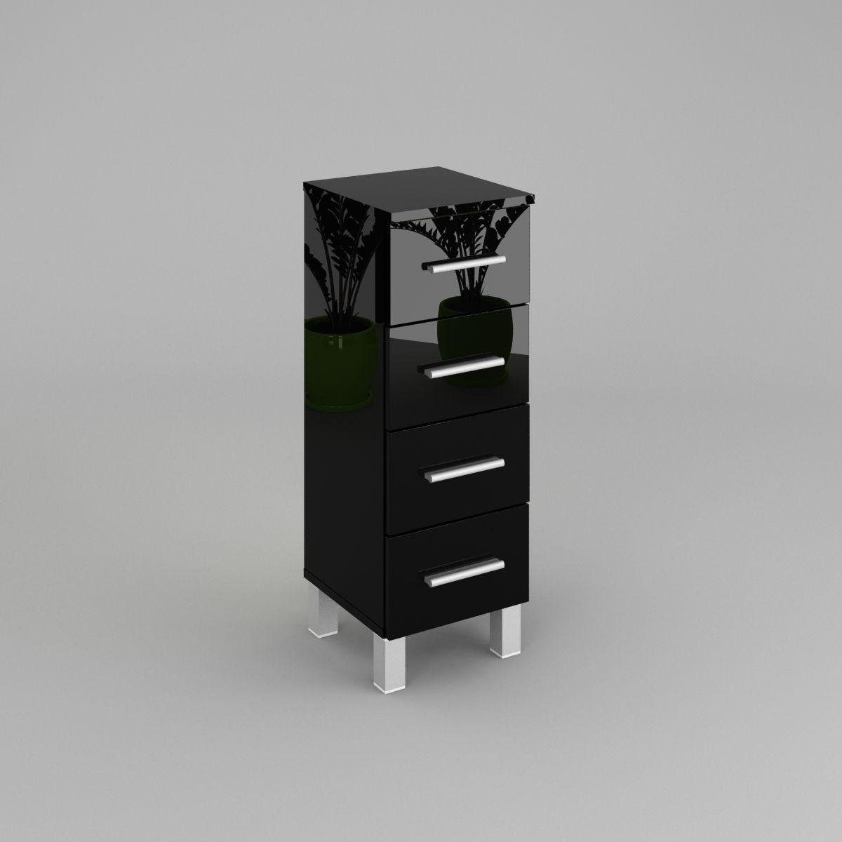 Badezimmerschrank Unterschrank SN3 30/40 cm | Labi Möbel