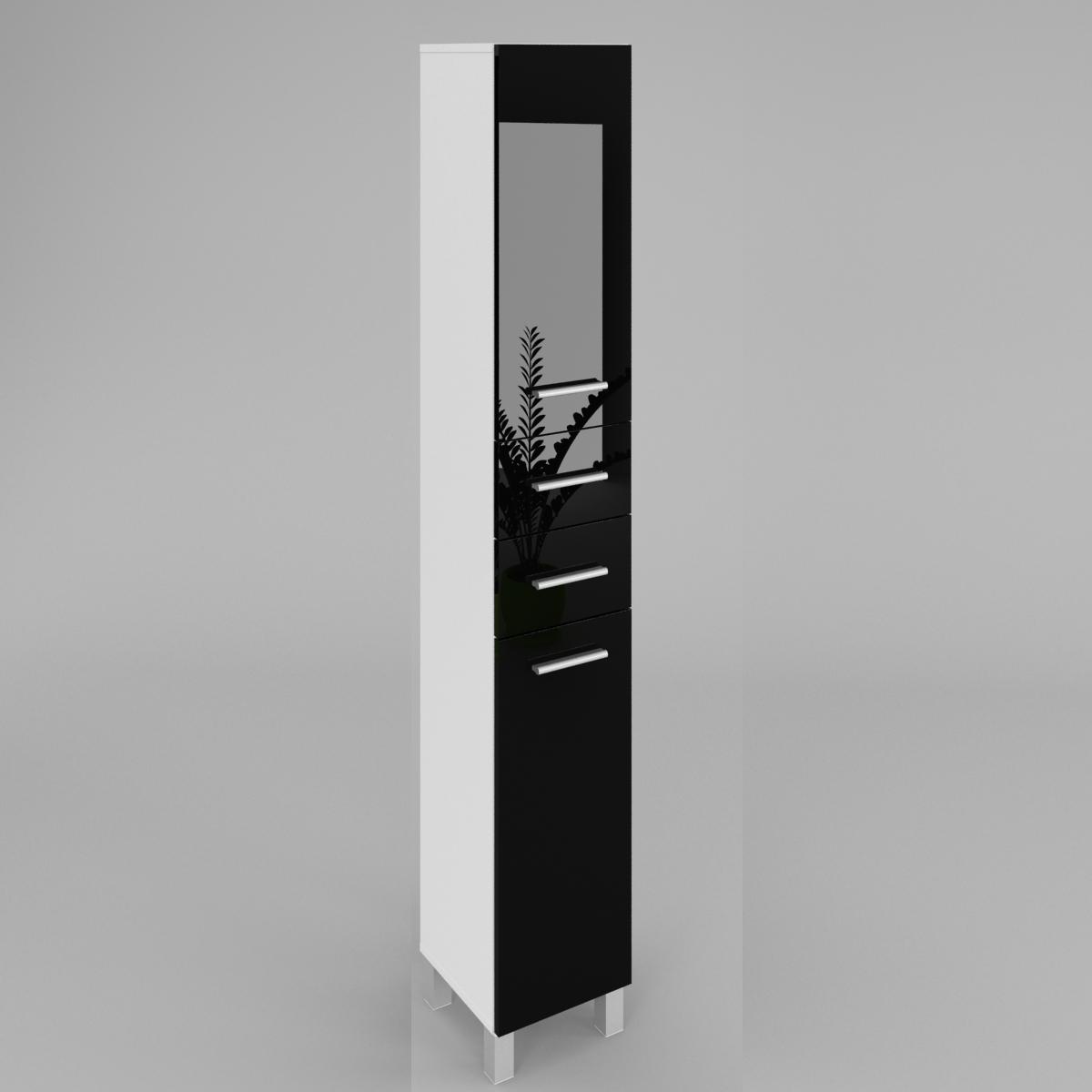 badezimmer hochschrank sw13 40cm labi m bellabi m bel. Black Bedroom Furniture Sets. Home Design Ideas