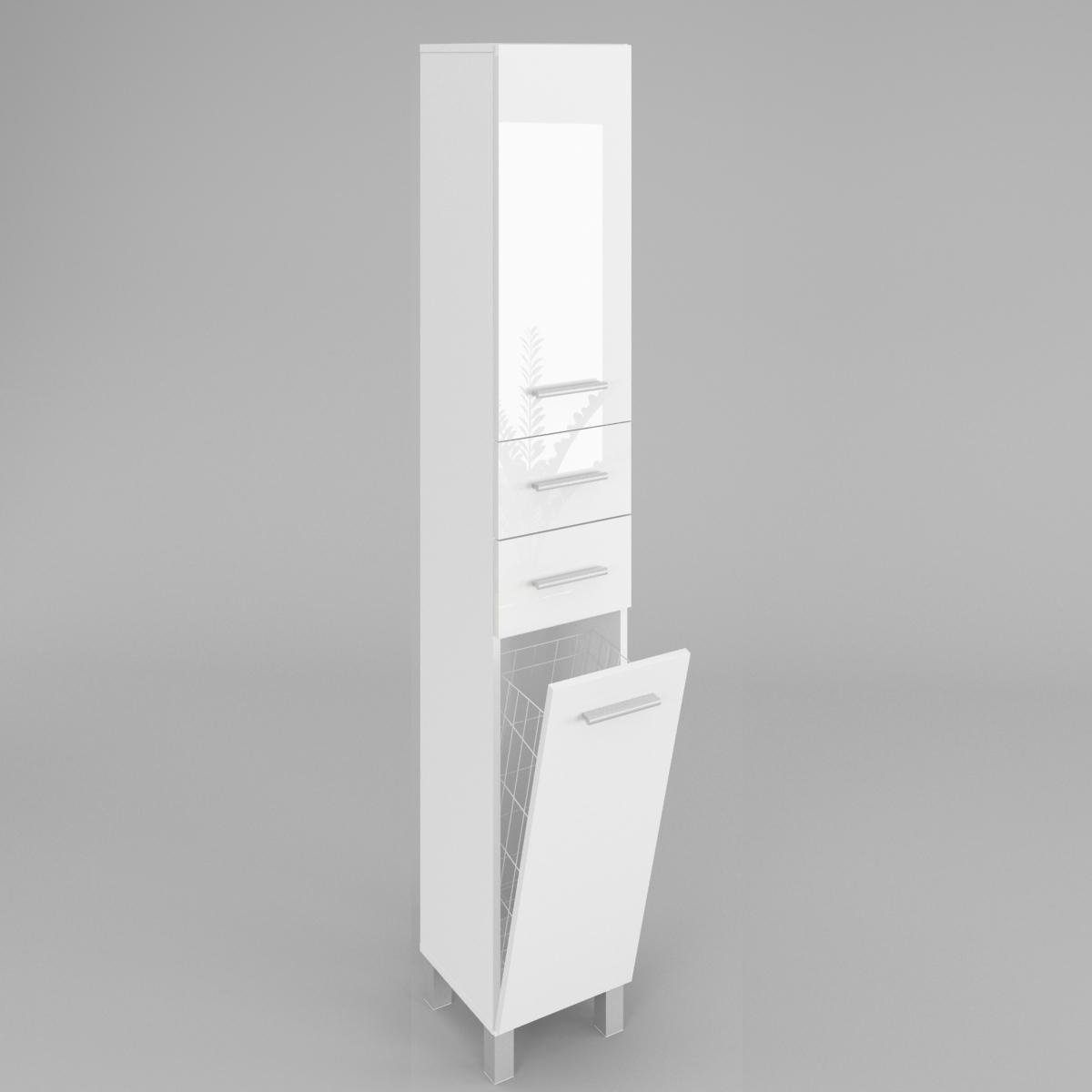 Badezimmer Hochschrank SW15 40cm