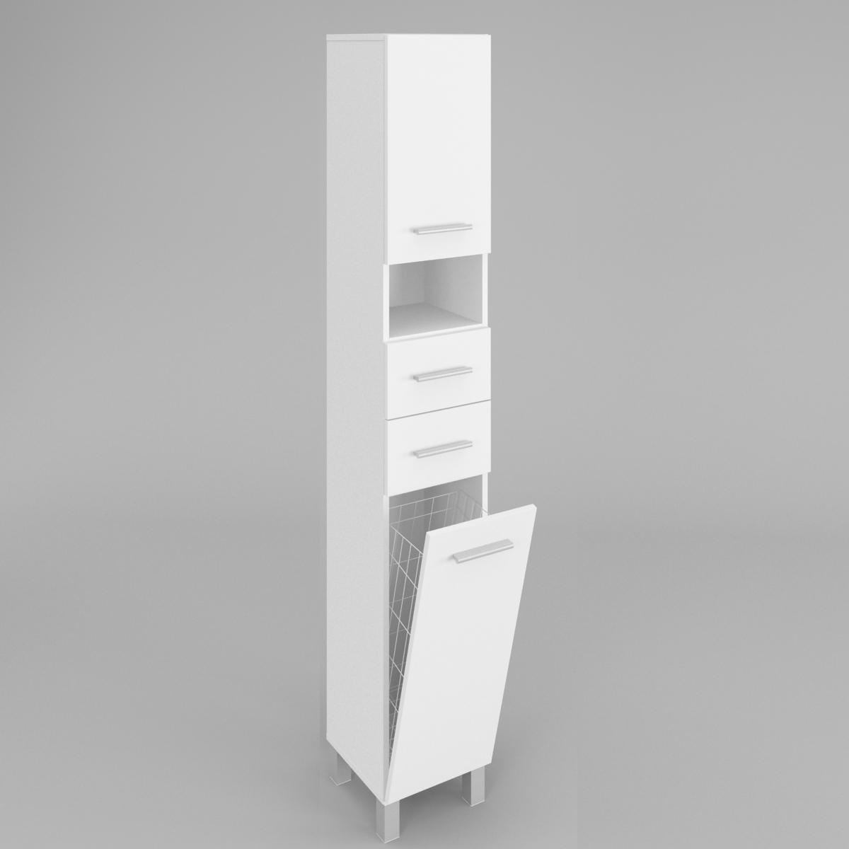 badezimmer hochschrank sw4 40cm labi m bellabi m bel. Black Bedroom Furniture Sets. Home Design Ideas